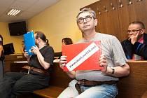 Skupina obžalovaná z výroby dětské pornografie u Krajského soudu v Hradci Králové.
