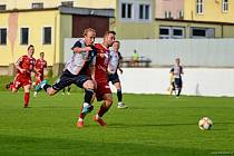Velký obrat byl k vidění v utkání Police vs. Bydžov (v červeném, na snímku z loňské sezony), když domácí ztratili vedení 2:0 a nakonec prohráli 2:3.