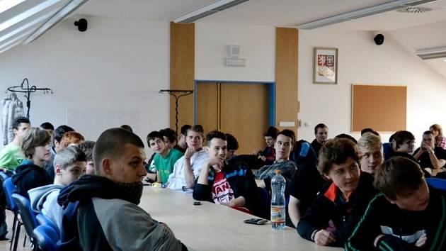 Týden proti Aids v Centru Sion v Hradci Králové.