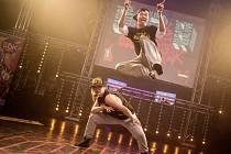 Taneční soutěž Dance Floor Attack v královéhradeckém Aldisu.