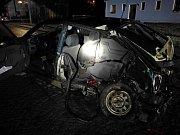 Tragická nehoda v Ohnišově.