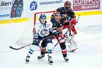Hokejová extraliga: Mountfield HK - Bílí Tygři Liberec.