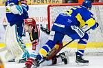 Hokejová extraligs: Mountfield HK - PSG Zlín.