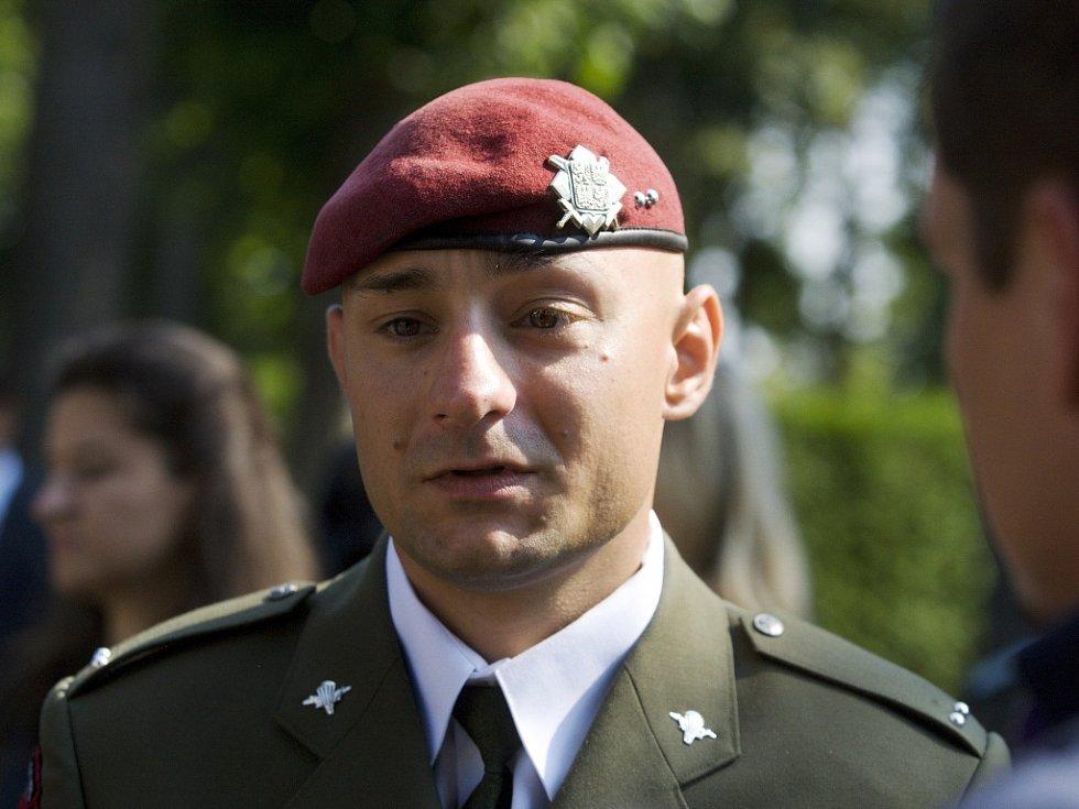 Desátník Tomáš Jeníček.