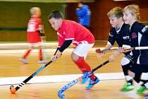 Z halového turnaje v pozemním hokeji mládeže Sudacup.