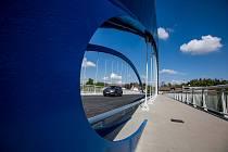 Otevření nového mostu ve Svinarech.