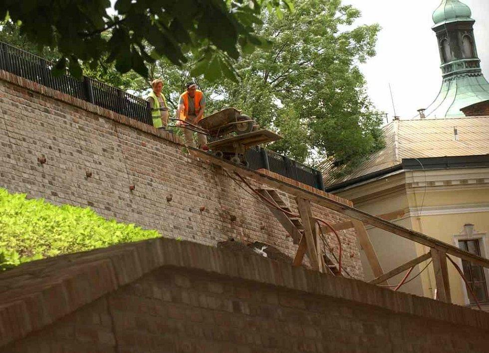 Rekonstrukce hradeb