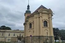 Kaple Zjevení Páně ve Smiřicích.