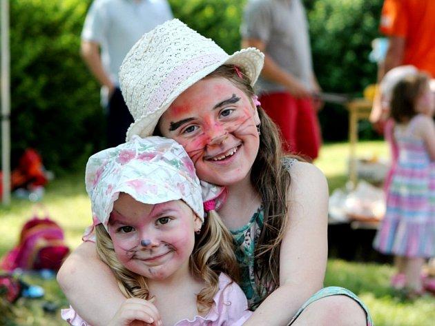 Dětský svět Sion - den dětí křesťanského centra v Hradci Králové.