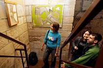 Na Bílé věži v Hradci Králové se uskutečnila 14. září letošní poslední vernisáž výtvarného umění.