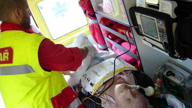 Záchranná služba každý rok zasahuje u 500 infarktů