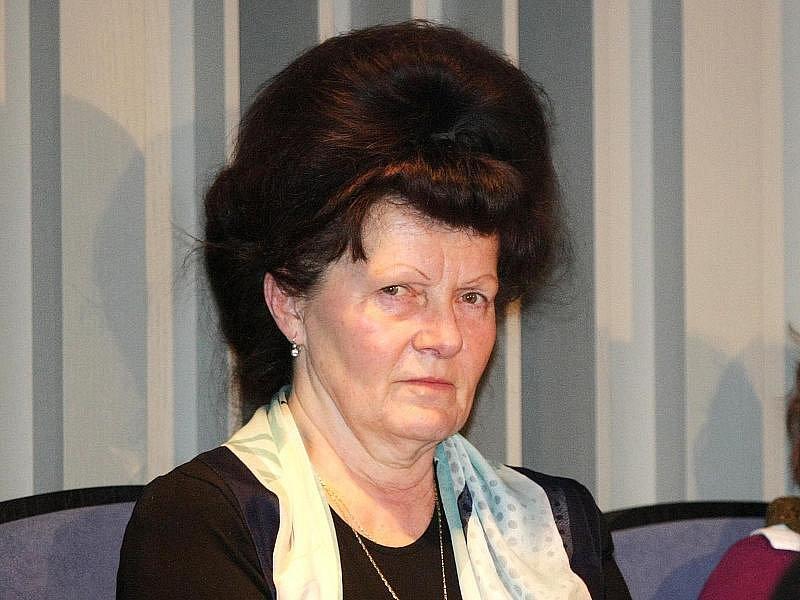 Farmářka Ludmila Havránková.