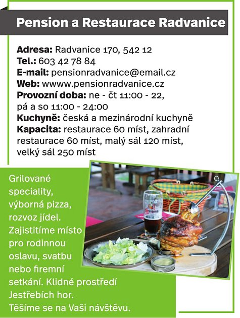 Penzion a Restaurace Radvanice
