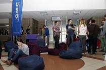 Barcamp na půdě královéhradecké univerzity pod heslem Zapalme Hradec.