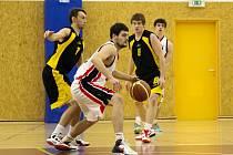Basketbalová I. liga mužů - 2. čtvrtfinále play off: Sokol Pražské Předměstí Hradec Králové 2 – BC Vysočina Jihlava.