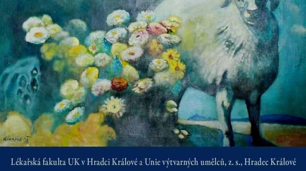 Pozvánka na výstavu Petr Kmošek: Obrazy.