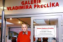 Vladimír Preclík letos otevřel svou expozici v hradeckém Regiocentru Nový Pivovar.