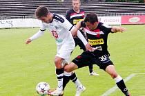Synot liga fotbalistů: FC Hradec Králové - SK Slavia Praha.