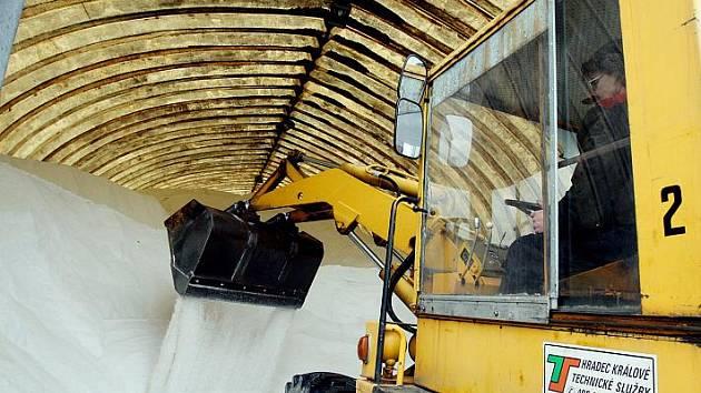 Příprava technických služeb na zimu.