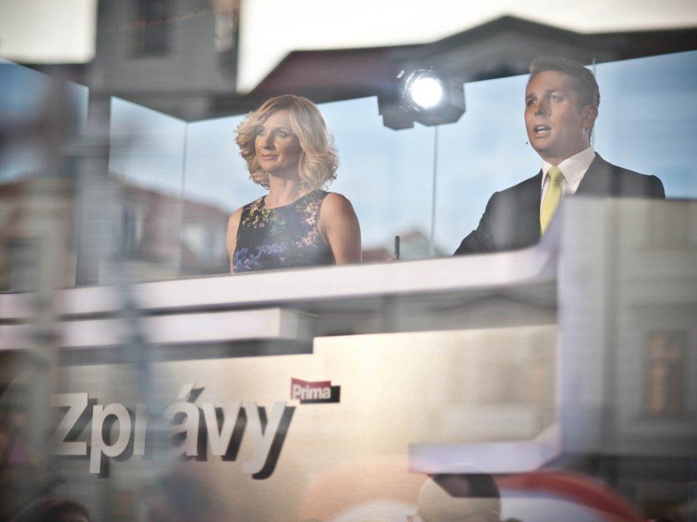 Terezie Kašparovská a Tomáš Hauptvogel.
