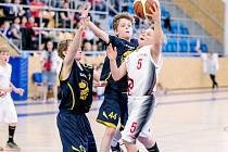 Závěrečný turnaj basketbalového mistrovství České republiky kategorie U12.