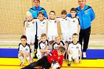 Výběr OFS Hradec Králové U10 vyhrál druhý turnaj Zimní halové ligy.