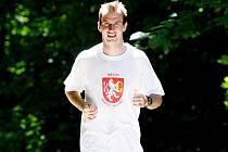 Fotbalista Vladimír Pokorný.