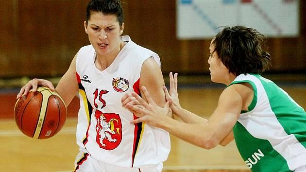 Basketbal ženy: Hradec Králové Hradecké Lvice x Valosun Brno.