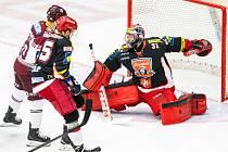 Hokejová extraliga - play off České pojišťovny - 4. zápas čtvrtfinále: Mountfield HK - HC Sparta Praha.