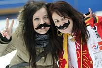 Projekt Movember podpořili hradečtí hokejisté i fanoušci.