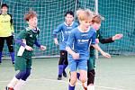 Stěžerská zimní halová liga fotbalové mládeže.
