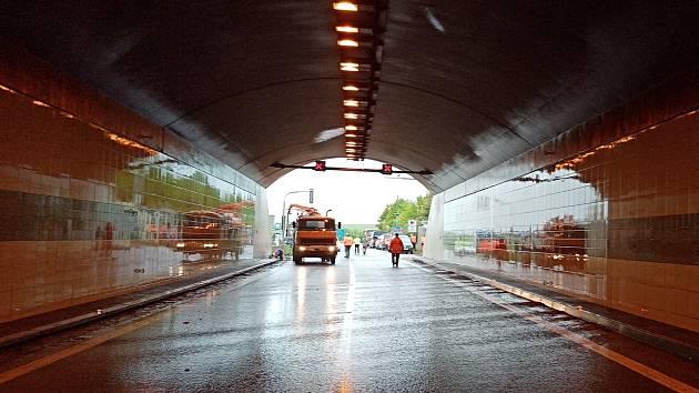 Tunel. Ilustrační foto