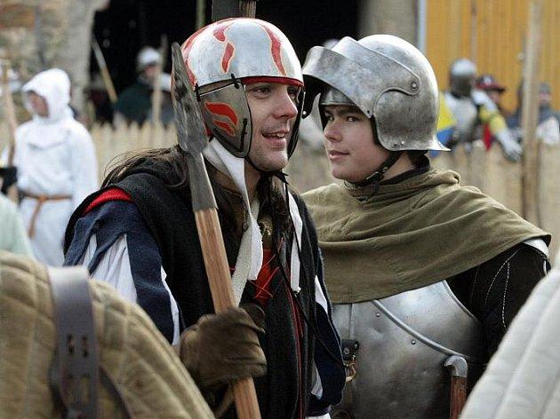 U Dohalic bojovali barbaři proti rytířům v příběhu nazvaném Návrat krále (15. ledna 2011).