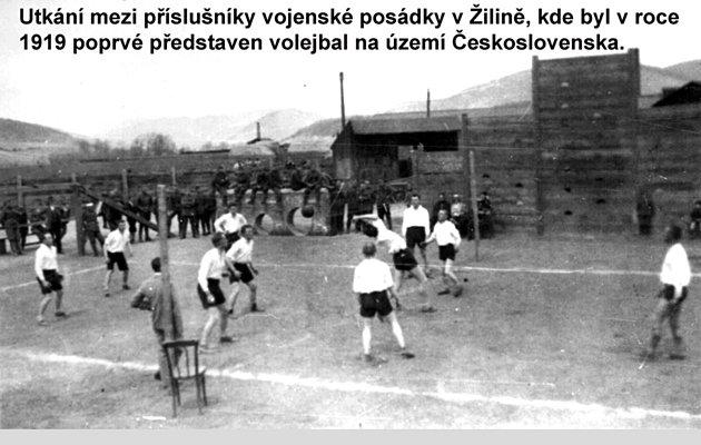 Počátky volejbalu unás - dvacátá léta.