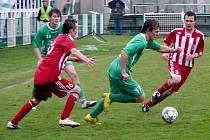 Fotbalový krajský přebor Královéhradecka: FC Olympia Hradec Králové - SK Libčany.