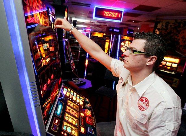 Hrací automaty, ilustrační foto
