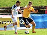 Fotbalová Fortuna národní liga: FK Baník Sokolov - FC Hradec Králové.