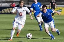Fotbalová národní liga: FC Hradec Králové - FC Graffin Vlašim.