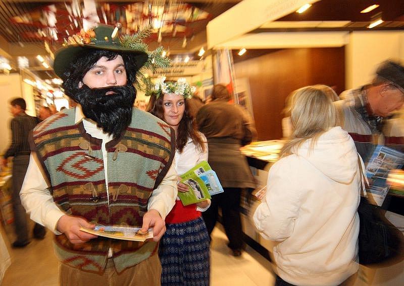 Veletrh Infotour a cykloturistika v hradeckém Kongresovém centru Aldis o víkendu 20. - 21. března 2010.