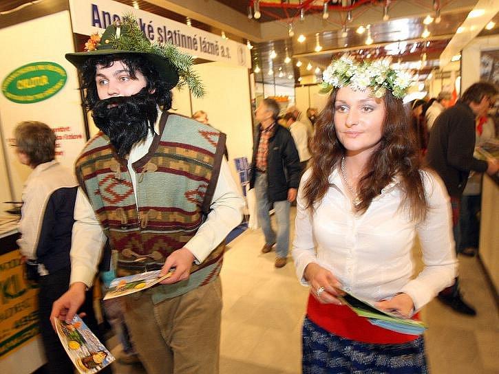 Veletrh cestovního ruchu Infotour a Cykloturistika.