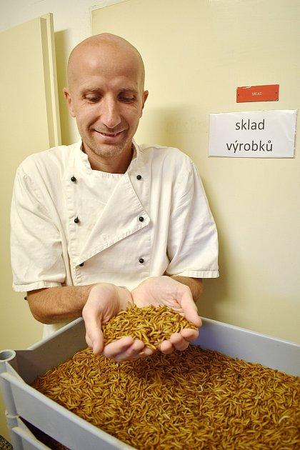 Prorazil se sušenými červíky. Byl jsem outsider, říká úspěšný podnikatel Libor Sloupenský.