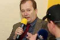 Alexandr Hrabálek jako host pořadu Českého rozhlasu Hradec Králové.