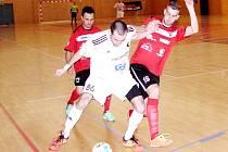 Chance futsal liga: Salamandr Hradec Králové - Benago Praha.