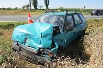 Střet dvou automobilů nepřežila dvaaosmdesátiletá řidička