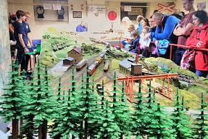 Výstava železničních modelů potrvá do 17. listopadu.