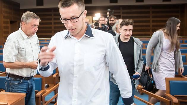 Kauza Lukáše Nečesaného opět u Krajského soudu v Hradci Králové.