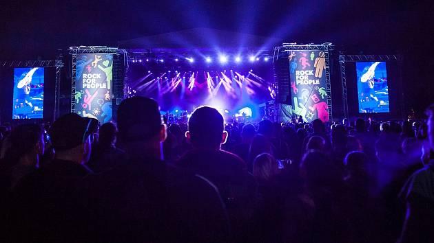 Festival Rock for People v Hradci Králové.