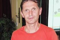 Jiří Tomášek, dlouholetý funkcionář a současný předseda fotbalového klubu TJ Slavoj Skřivany.