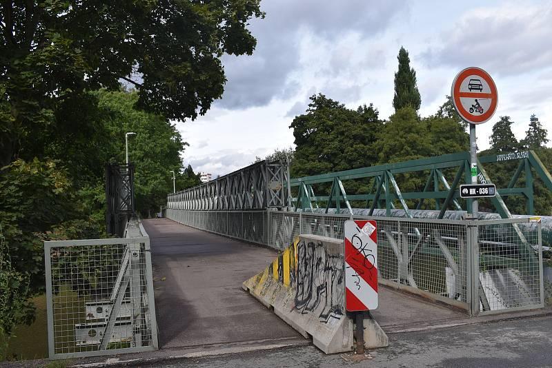 Most Bailey Bridge na Slezském Předměstí čeká příští rok generální oprava.