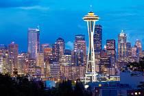 Siluetě největšího města státu Washington vévodí 184 metrů vysoká vyhlídková věž Space Needle, která tu byla postavena pro světovou výstavu v roce 1962.